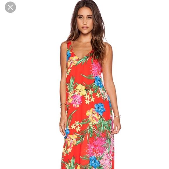 b1f39cec7bd7 Show Me Your MuMu Dresses | Tropical Tango Maxi Dress Small | Poshmark
